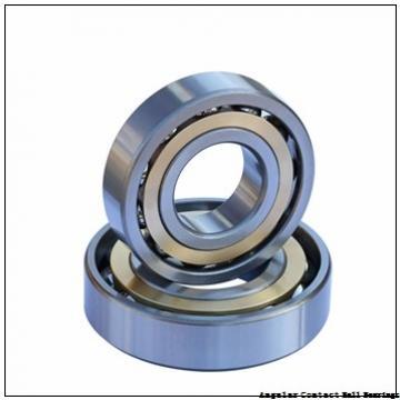 0.394 Inch | 10 Millimeter x 1.378 Inch | 35 Millimeter x 0.748 Inch | 19 Millimeter  EBC 5300 2RS  Angular Contact Ball Bearings